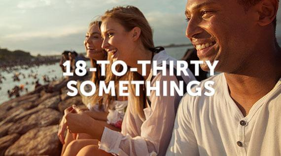 18-to-Thirtysomethings