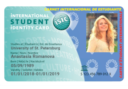 ISIC Card